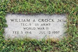 William A Crock, Jr