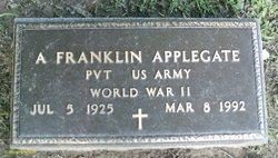 Pvt Albert Franklin Applegate