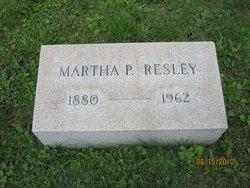 Martha E. <i>Parks</i> Resley