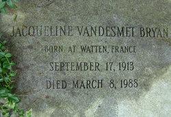 Jacqueline Vandesmet <i>De La Grandiere</i> Bryan