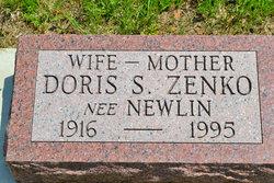 Doris S <i>Newlin</i> Zenko