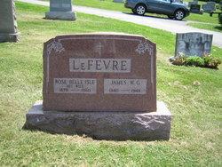 James W G LeFevre