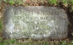 Herbert W. Farrar