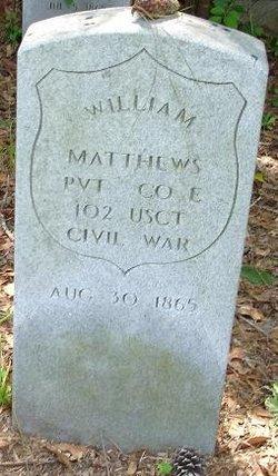 Pvt William Matthews