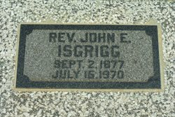 Rev John Enos Isgrigg