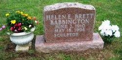 Helen E. <i>Brett</i> Babbington