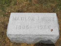 Matilda J Hunt