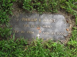 1stLt Phillip L Hunt