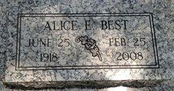 Alice E. Best