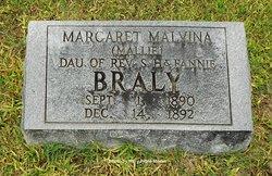 Margaret Malvina Mallie Braly