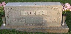 Elizabeth Bessie <i>Evans</i> Jones