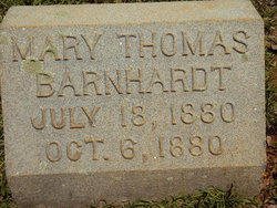 Mary Thomas Barnhardt