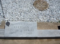 Mildred B <i>Starr</i> Ryerson