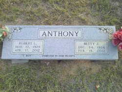 Betty Jean <i>Benham</i> Anthony