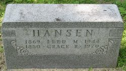 Grace Belle <i>Tillotson</i> Hansen