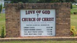 Love of God Church of Christ Cemetery