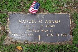 Manuel O Adams