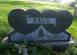 Cecil A Paul