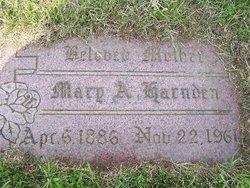 Mary <i>Triebert</i> Harnden