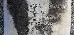 Mary Dora <i>Hodges</i> Veal