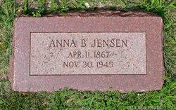 Anna B <i>Jensen</i> Jensen