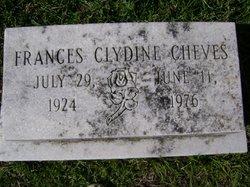 Frances Clydine Cheves