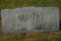 Genevie <i>Morrell</i> Andrews