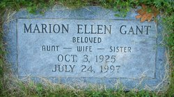 Marion Ellen <i>Higgins</i> Gant