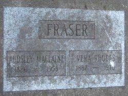 Audsley MacLaine Fraser