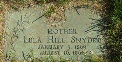 Lula <i>Hill</i> Snyder