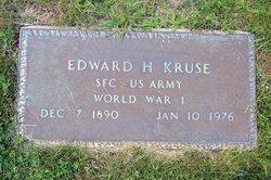 Edward H Kruse