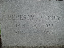 Beverly Mosby Coleman