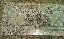 Vera Emily Jane <i>Loyd</i> Barnard