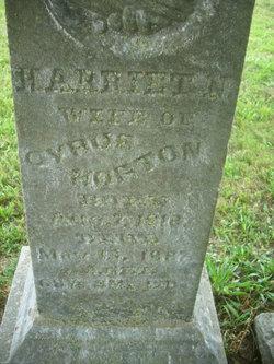 Harriet Nancy <i>Phelps</i> Horton