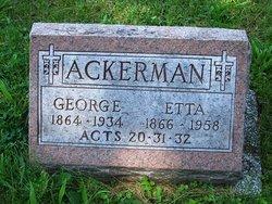 Etta <i>Wilkin</i> Ackerman