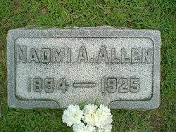 Naomi A <i>Lentz</i> Allen
