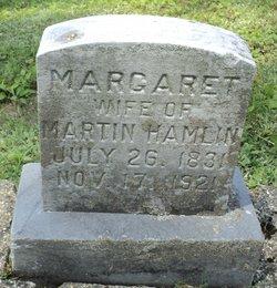 Margaret <i>Linck</i> Hamlin