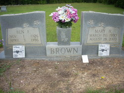 Mary H Brown