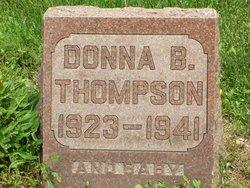Donna B Thompson