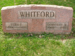 Dorothy L. <i>Weidler</i> Whitford
