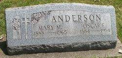Mary M. <i>Friedrich</i> Anderson