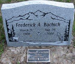 Fredrick A. Bachich