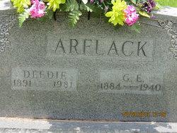 George Ewell Arflack, Sr
