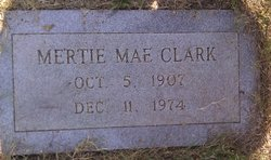 Mertie Mae <i>Click</i> Clark