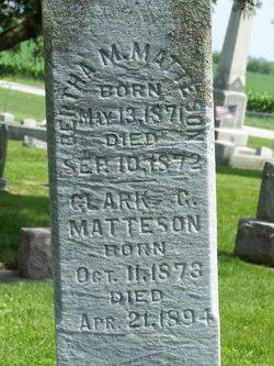 Clark G. Matteson