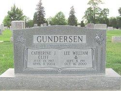 Catherine J <i>Cliff</i> Gundersen
