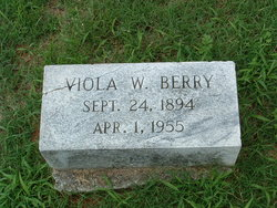 Viola W Berry