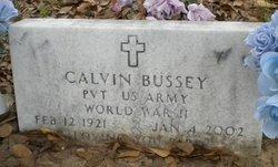 Calvin Bussey