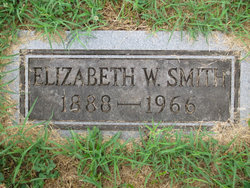 Elizabeth W. <i>Walker</i> Smith