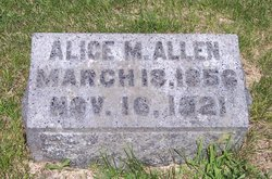 Alice May <i>Burrows</i> Allen